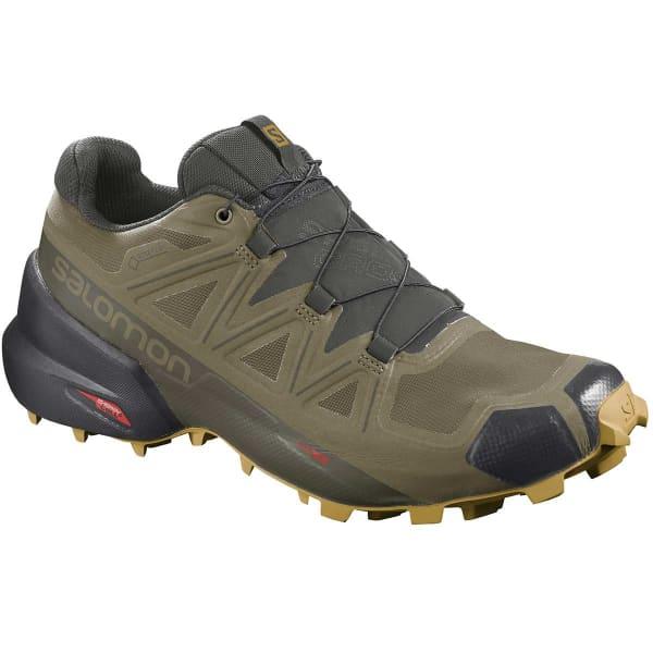 SALOMON Chaussure trail Speedcross 5 Gore-tex Martini Olive/peat/arrowwood Homme Vert/Noir taille 8.5