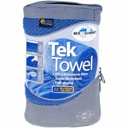 SEA TO SUMMIT TEK TOWEL M COBALT BL 21