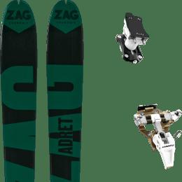 Matériel ZAG ZAG ADRET 81 20 + DYNAFIT SPEED TURN 2.0 BRONZE/BLACK 21 - Ekosport