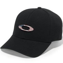 OAKLEY TINCAN CAP BLACK/AMERICAN 20