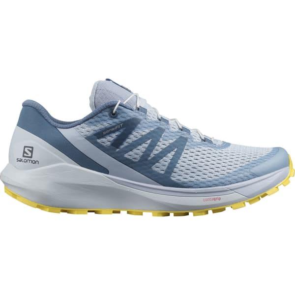 SALOMON Chaussure trail Sense Ride 4 W Arctic Ice/kentucky Blue/lemon Zest Femme Bleu taille 3.5