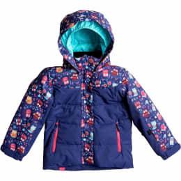 Vêtement hiver ROXY ROXY JR ANNA JK LITTLE OWL/BLUE PRINT 17 - Ekosport