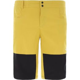 THE NORTH FACE M CLIMB SHORT BAMBOO YELLOW/TNF BLACK 20