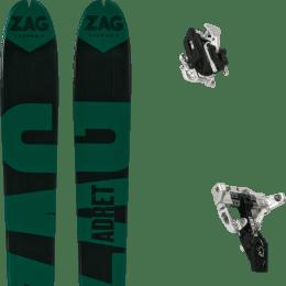 Boutique ZAG ZAG ADRET 81 20 + MOVEMENT SUPERLIGHT TRACKS BLACK 21 - Ekosport