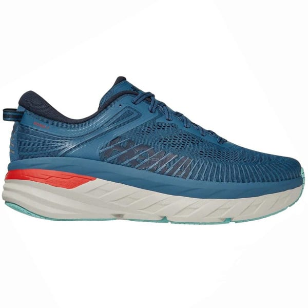 HOKA ONE ONE Chaussure running Bondi 7 Real Teal/outer Space Homme Bleu taille 7