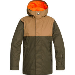 DC SHOES DEFY JKT YOUTH OLIVE NIGHT 20