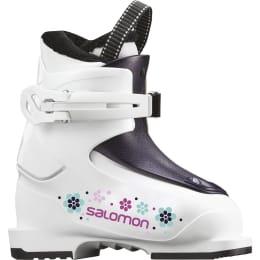 Chaussure de ski SALOMON SALOMON T1 GIRLY WHITE/ROSE VIOLET 20 - Ekosport