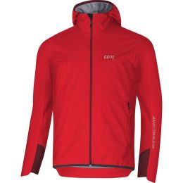 GORE WINDSTOPPER INSULATED HOODED JACKET, RED/CHESTNUT RED 20