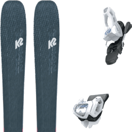 Pack ski alpin K2 K2 MINDBENDER 98 TI ALLIANCE 20 + TYROLIA ATTACK² 11 GW BRAKE 100 [L] SOLID WHITE NAVY 20 - Ekosport