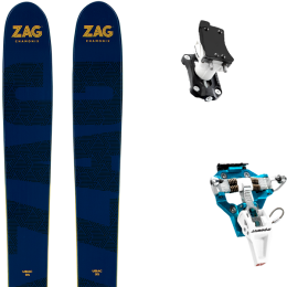ZAG UBAC 95 21 + DYNAFIT SPEED TURN 2.0 BLUE/BLACK 21