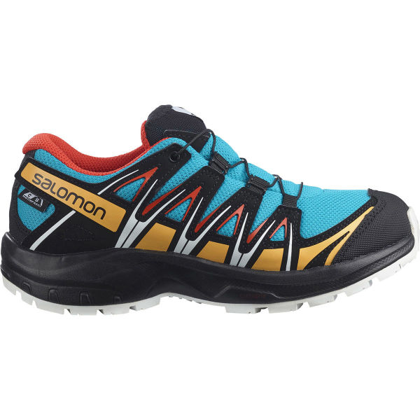 SALOMON Chaussure trail Xa Pro 3d Cswp J Hawaiian Ocean/cherry Tomato/warm A Enfant Bleu/Noir taille 33
