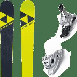 Pack ski alpin FISCHER FISCHER NIGHTSTICK 21 + MARKER 11.0 TP WHITE 21 - Ekosport