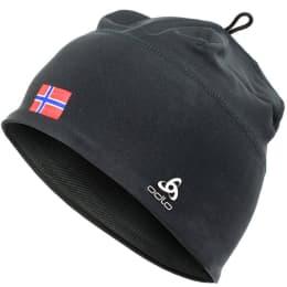 Nouveautés 2018 en vrac ODLO ODLO POLYKNIT BLK/NORWAY FLAG 20 - Ekosport