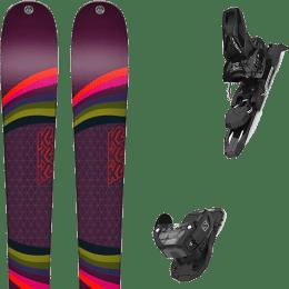 Pack ski+fix K2 K2 MISSCONDUCT 19 + SALOMON WARDEN MNC 11 BLACK L90 21 - Ekosport