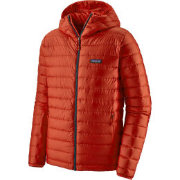 PATAGONIA M'S DOWN SWEATER HOODY HOT EMBER 21
