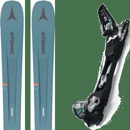 Pack ski alpin ATOMIC ATOMIC VANTAGE 97 C BLUE/GREY 21 + MARKER F10 TOUR BLACK/WHITE 20 - Ekosport