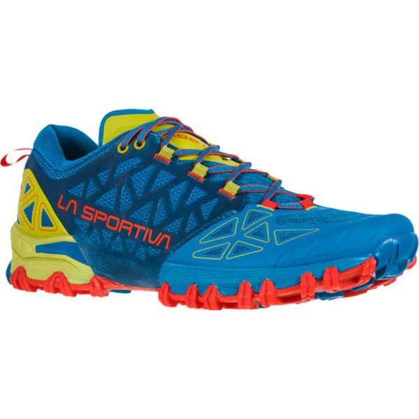 LA SPORTIVA Chaussure trail Bushido Ii Neptune/kiwi Homme Bleu/Vert taille 43