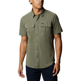 COLUMBIA NEWTON RIDGE™ SHORT SLEEVE STONE GREEN 21