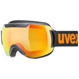 UVEX DOWNHILL 2000 CV BLACK MAT/MIR ORANGE/COL YELLOW 21