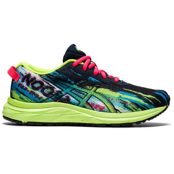 ASICS Chaussure running Gel-noosa Tri 13 Gs Jr French Blue/hazard Green Enfant Multicolore taille 3.5