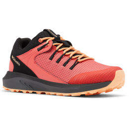 COLUMBIA TRAILSTORM WP WMNS-RED CORAL, PEACH 21