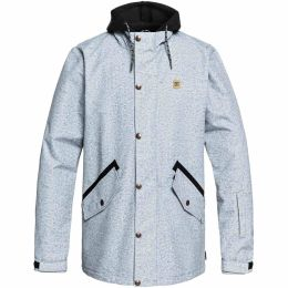 DC SHOES UNION JKT LIGHT BLUE ACID WASH DENIM 19