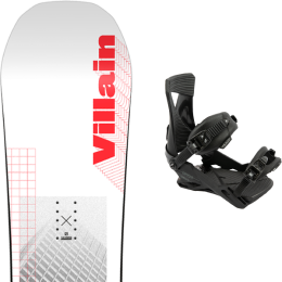 SALOMON THE VILLAIN 21 + NITRO ZERO ULTRA BLACK 21