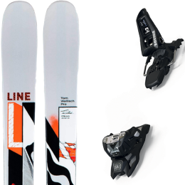 LINE TOM WALLISCH PRO 21 + MARKER SQUIRE 11 ID BLACK 21