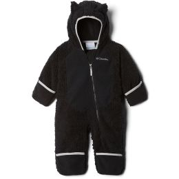 COLUMBIA FOXY BABY SHERPA BUNTING BLACK/SLATE GREY 19