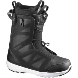 SALOMON LAUNCH BLACK/BLACK/WHITE 20