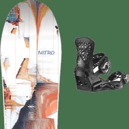 BU Ski Alpin NITRO NITRO SANTOKU 21 + SALOMON HIGHLANDER BLACK 21 - Ekosport