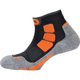 MONNET SOCQUETTE TRAIL AIR GRIS ORANGE 20