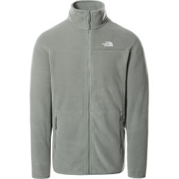 THE NORTH FACE M 100 GLACIER FULL ZIP AGAVE GREEN 21