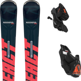 ROSSIGNOL REACT 8 HP + NX 12 KONECT GW B80 BLACK RED 21