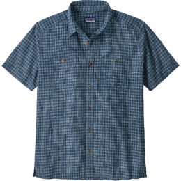 PATAGONIA M'S BACK STEP SHIRT IKAT NET PALO GREEN 21