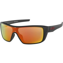 OAKLEY STRAIGHTBACK MATTE BLACK/PRIZM RUBY POLISHED 18