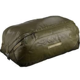 SALOMON BAG OUTLIFE DUFFEL 100 OLIVE NIGHT/MARTINI OLIVE 21