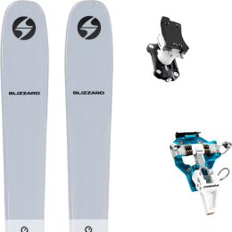 BLIZZARD ZERO G 085 GREY 22 + DYNAFIT SPEED TURN 2.0 BLUE/BLACK 21