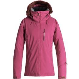 Vêtement de ski ROXY ROXY DOWN THE LINE JK BEET RED 19 - Ekosport