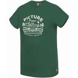 PICTURE COLTER TEE FOREST GREEN 21