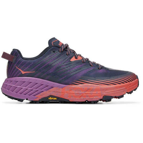 HOKA ONE ONE Chaussure trail Speedgoat 4 W Outer Space / Hot Coral Femme Violet taille 5
