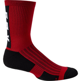 "FOX 6"" RANGER CUSHION SOCK CHILI 21"