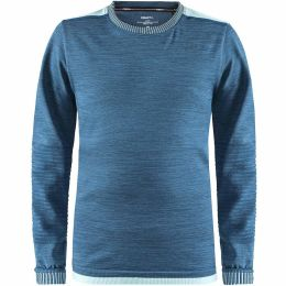 CRAFT FUSEKNIT COMFORT COL ROND JUNIOR FJORD/CHINE 19
