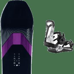 Snowboard K2 K2 MANIFEST 21 + UNION FALCOR ARCTIC WHITE 21 - Ekosport