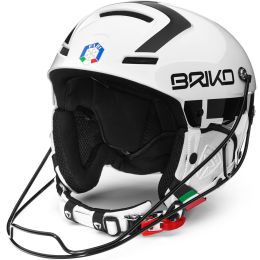 BRIKO SLALOM - FISI SHINY WHITE BLACK 21