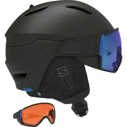 SALOMON DRIVER CA BLACK/SOLAR BLUE 21
