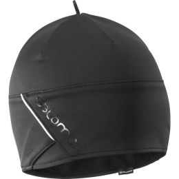 SALOMON RS BEANIE BLACK/BLACK/SHINY BLACK 21