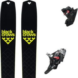 BU Fond / Rando BLACK CROWS BLACK CROWS SOLIS 22 + FRITSCHI XENIC 10 22 - Ekosport