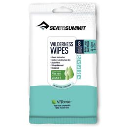 SEA TO SUMMIT PACK 8 LINGETTES WILDERNESS 21x30CM 21
