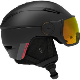 SALOMON PIONEER VISOR PHOTO BLK/AW RED 21